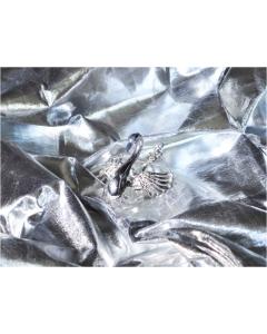 Bakgrunn Laminert Sølv - 1.3x2.2 m