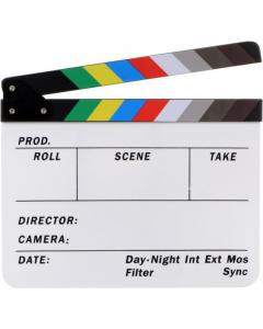 Filmklapper 30x25 cm