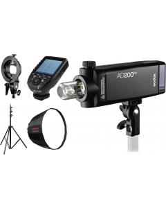Studiopakke - Godox AD200PRO-V1
