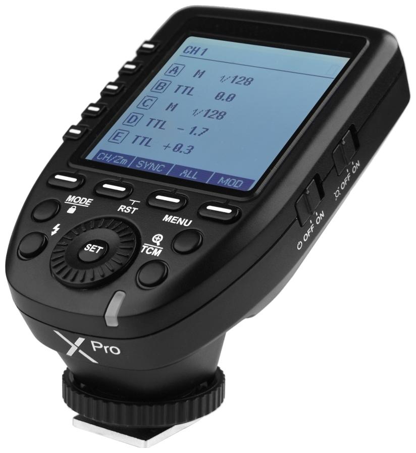 Fjernutløsere og TTL-kabler